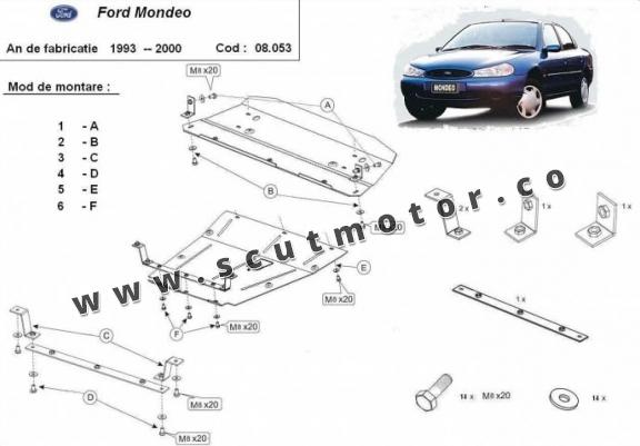 Scut motor Ford Mondeo 1,2