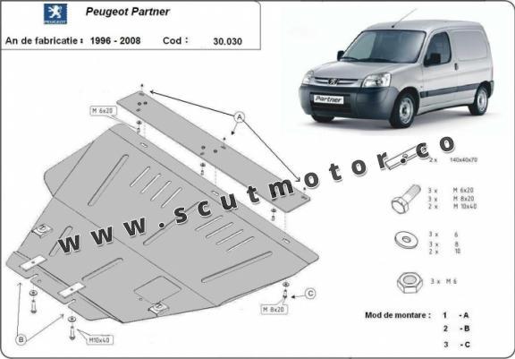 Scut motor Peugeot Partner