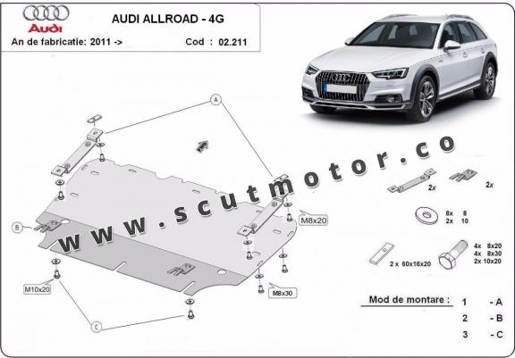 Scut Motor Audi All Road