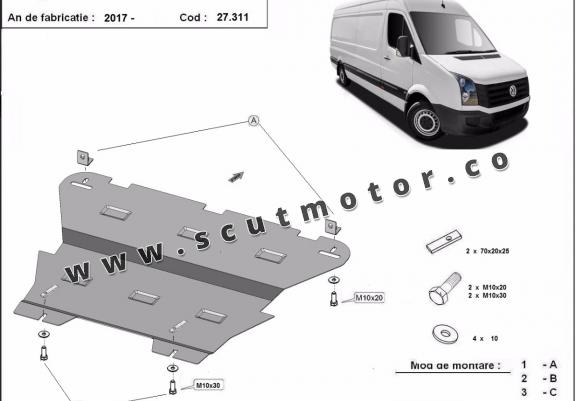 Scut motor Vw Crafter