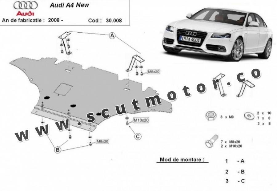 Scut Motor Audi A4 4