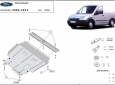 Scut motor Ford Transit Connect 1