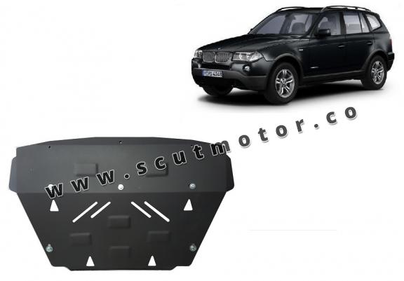 Scut radiator BMW X3