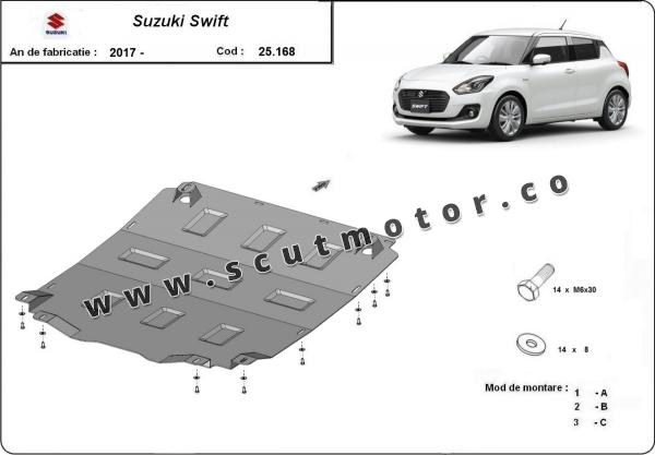 Scut motor Suzuki Swift  1